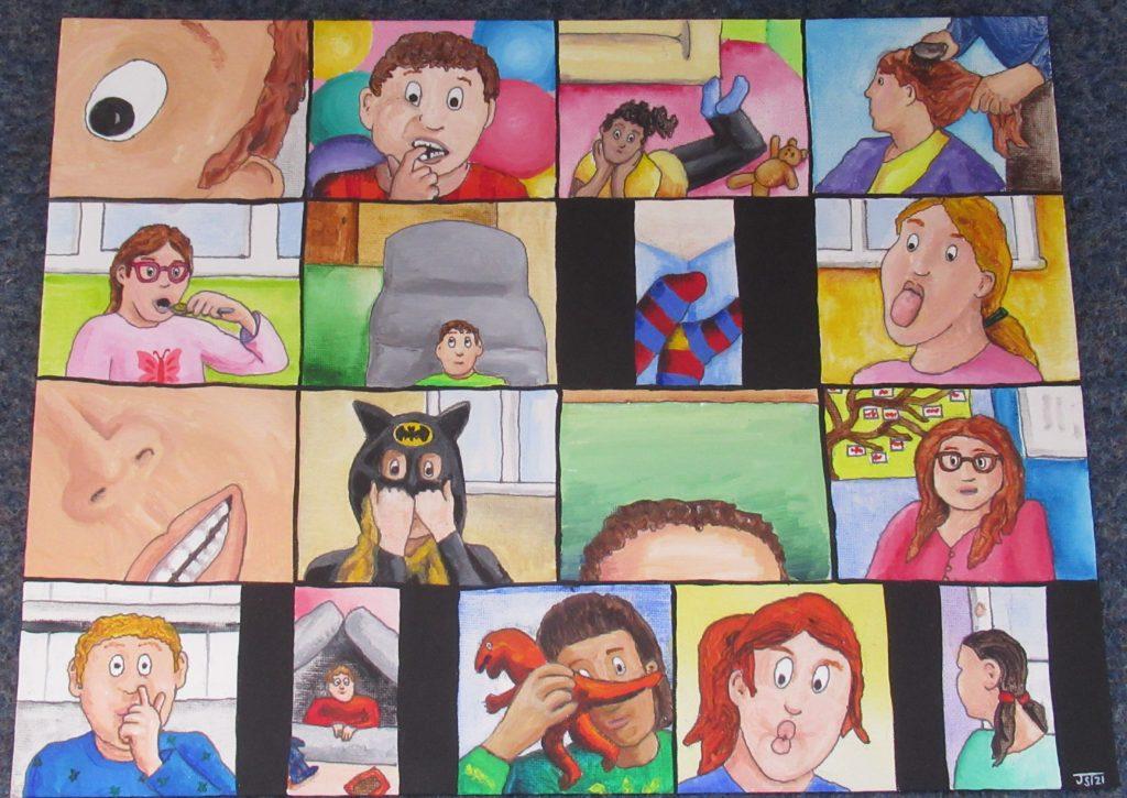 joanna's amazing artwork