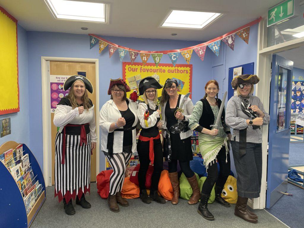 teacher pirates