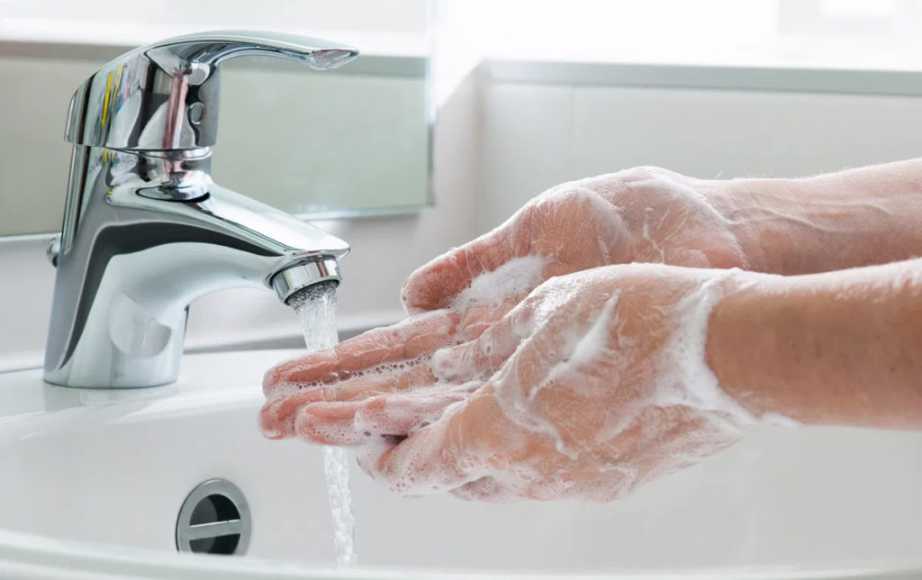 Covid handwashing advice